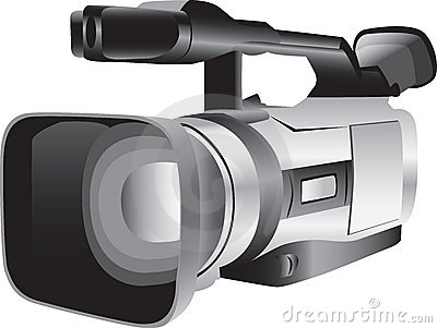Illustrated video camera