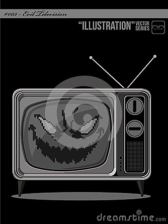 Illustration #003 - Evil Television