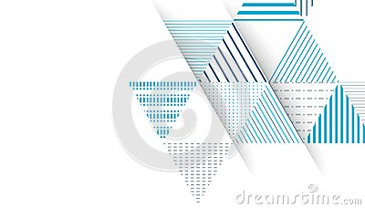 Abstract triangle pattern background Vector Illustration