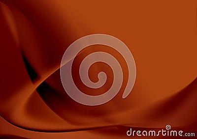 Illustration abstraite en rouge