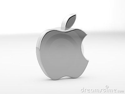 Illustration of Apple Logo (Editorial) Editorial Photo