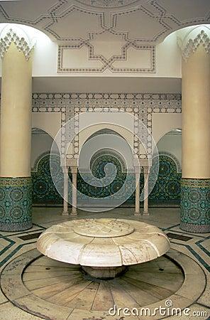 Illustration arabic interior