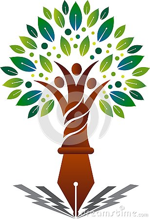Education family tree logo Vector Illustration