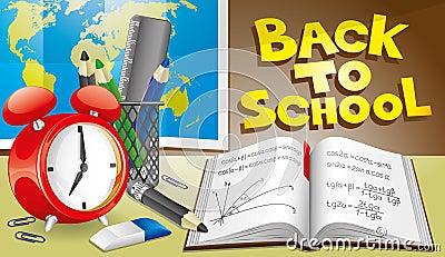 Illustration. Back to school.