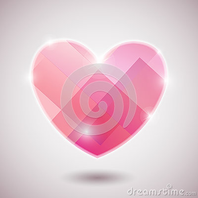 Illustration background heart