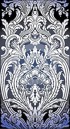 of Baroque pattern Baroque Pattern