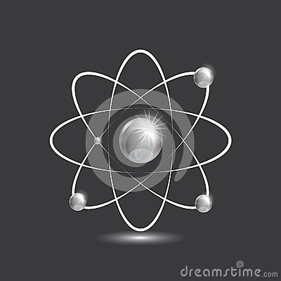 Illustration of bright atoms