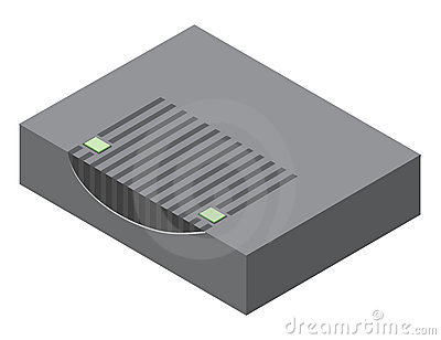 Illustration of cable modem