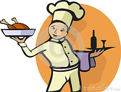 Illustration of a Chef s profession