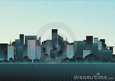 Illustration of a cityscape