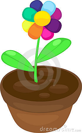 Illustration color flower