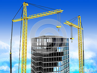 Byggnad 3d