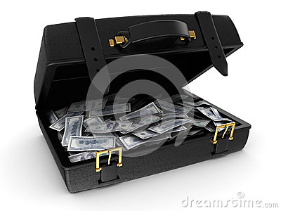 Valise avec de l argent