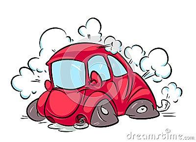 Illustration de bande dessin e d 39 accident de voiture illustration stock image 39308349 - Accident de voiture dessin ...