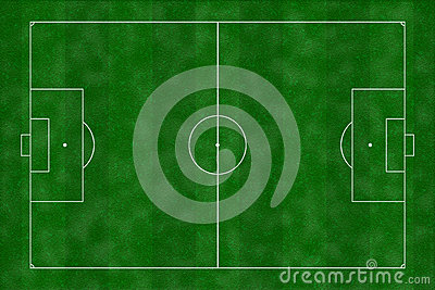 Illustration de terrain de football