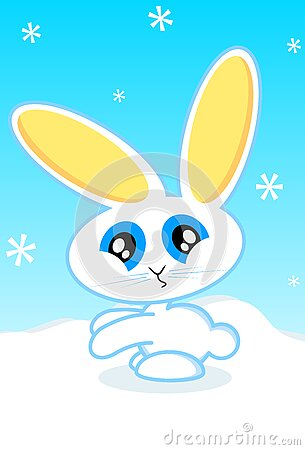 Illustration de vecteur de lapin de vacances