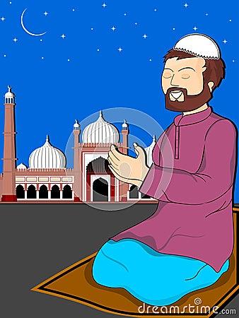 Illustration For Eid Mubarak Celebration Stock Photos ...
