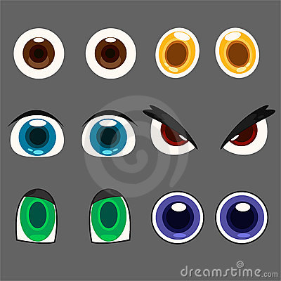Illustration eye set