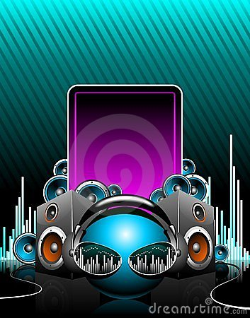 Free Illustration For A Musical Theme Stock Photography - 9125052
