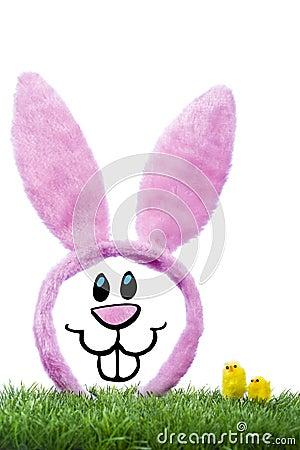 Illustration of funny rabbit