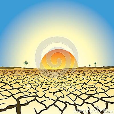 Illustration of global warming