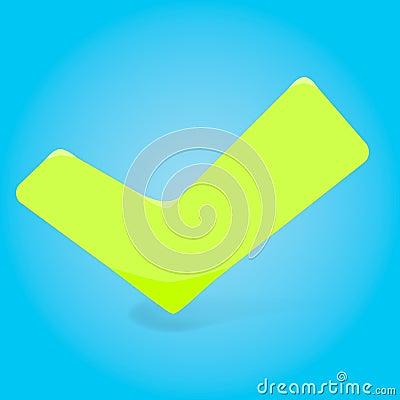 Illustration of green checkmark