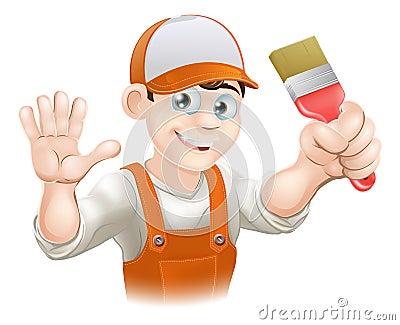 Painter or decorator man