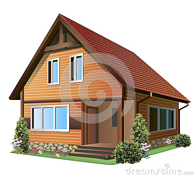 Illustration of house