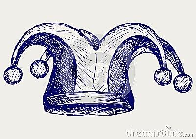 Illustration jester hat