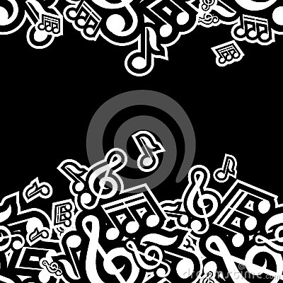 Illustration of musical notes