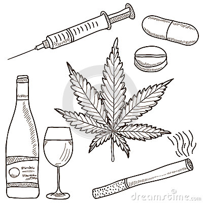 Illustration of narcotics