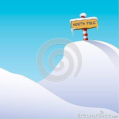 Illustration of North Pole