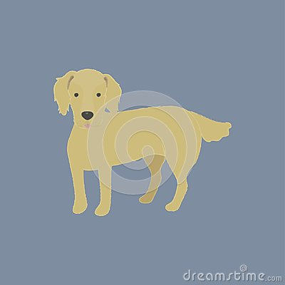 Free Illustration Of A Cute Little Dog Stock Photography - 112078212