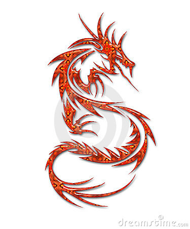 Free Illustration Of A Mythical Dragon Stock Images - 8881194