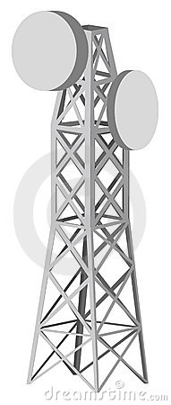 Free Illustration Of Antenna Tower Royalty Free Stock Photography - 15141057