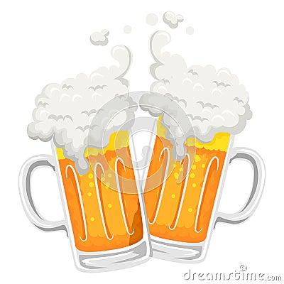 Free Illustration Of Beer Mug Toast Royalty Free Stock Images - 67848109