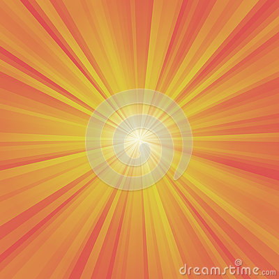 Free Illustration Of Colorful Rays (yellow, Orange, Red)  Stock Images - 55962034