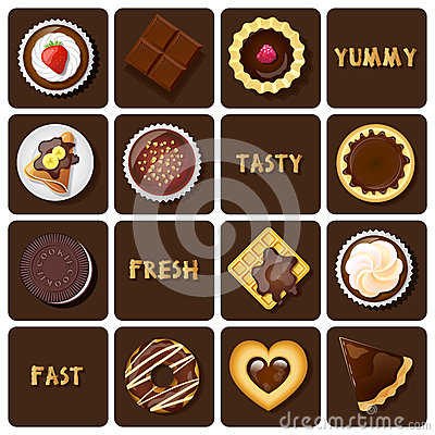 Free Illustration Of Dessert And Baked Goods Stock Photography - 52416252