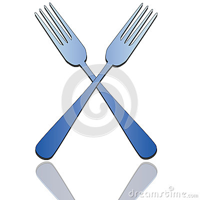 Pair of forks
