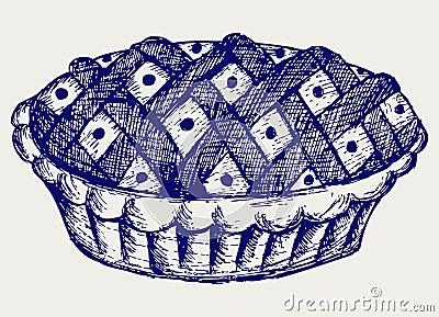 Illustration pie