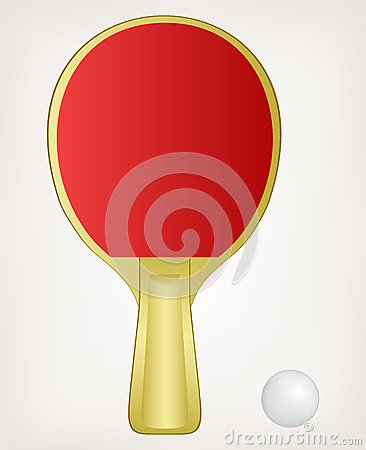 Illustration ping pong