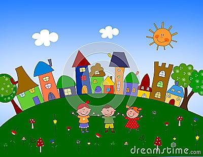 Illustration pour des enfants
