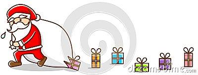 Illustration of Santa