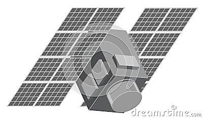 Illustration of satellite