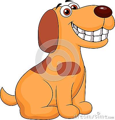 Smiling Dog Cartoon Royalty Free Stock Photography - Image: 29714317