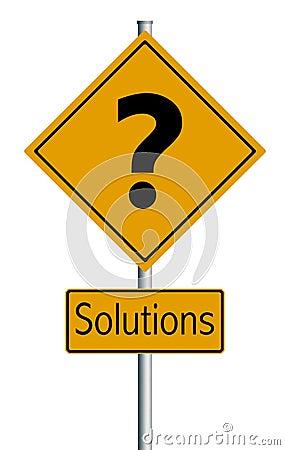 Illustration Solutions  - Trafic sign