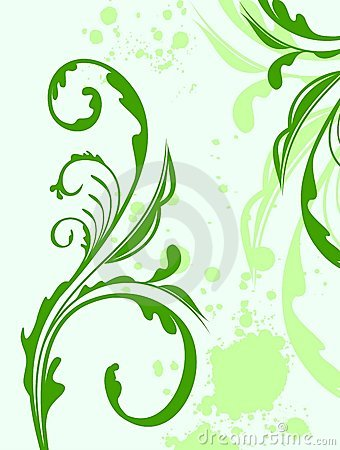Free Illustration Spring Grunge Flower And  Leaf Royalty Free Stock Photos - 14941028