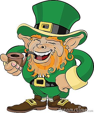Illustration Of St Patrick S Day Leprechaun Royalty Free