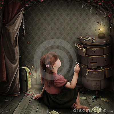 Free Illustration To The Fairy Tale Alice In Wonderland Stock Photo - 24040260