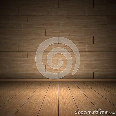 Illustration of wooden floor